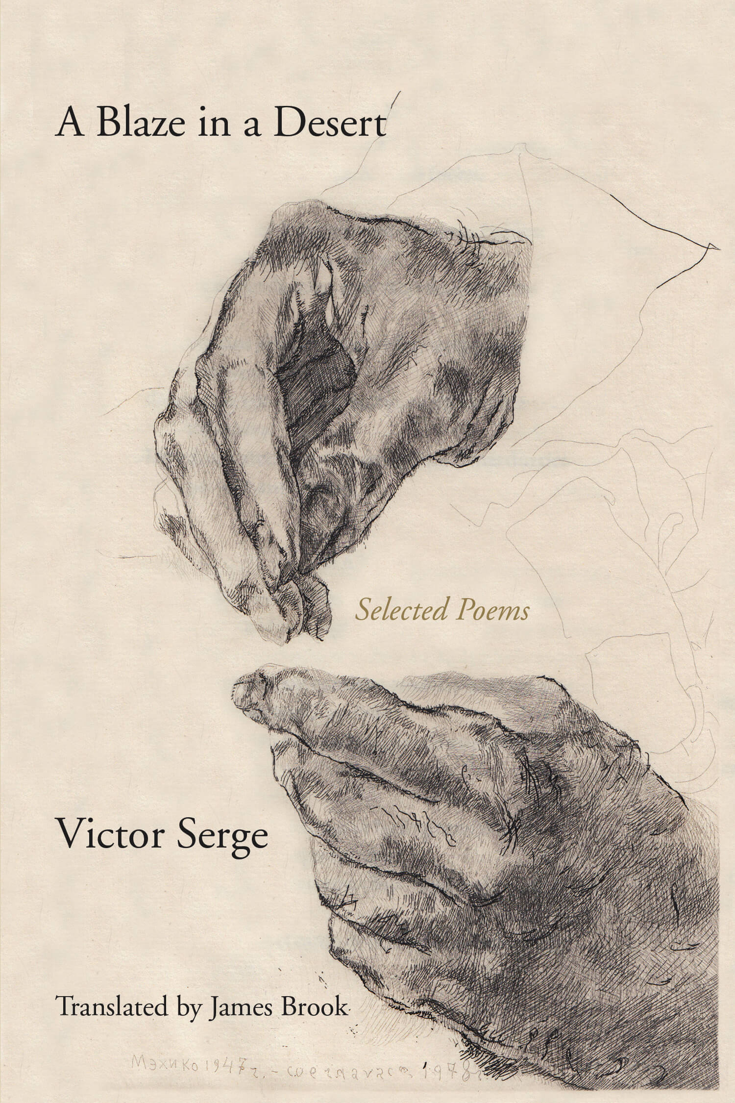A Blaze in a Desert: Selected Poems, Victor Serge – PM Press UK
